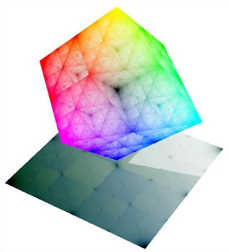White Triangle Wallpaper