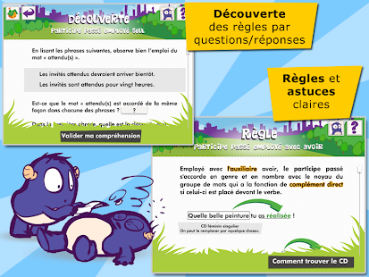 Les participes passés- screenshot thumbnail