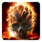 Fire Skulls Live Wallpaper icon