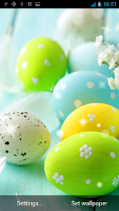 Easter Live Wallpaper HD screenshot 2