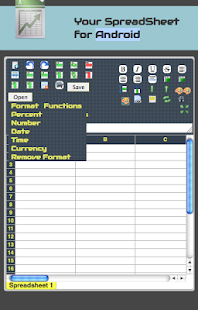 Your SpreadSheet- screenshot thumbnail