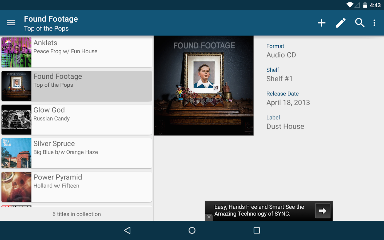 Music Library Free - screenshot