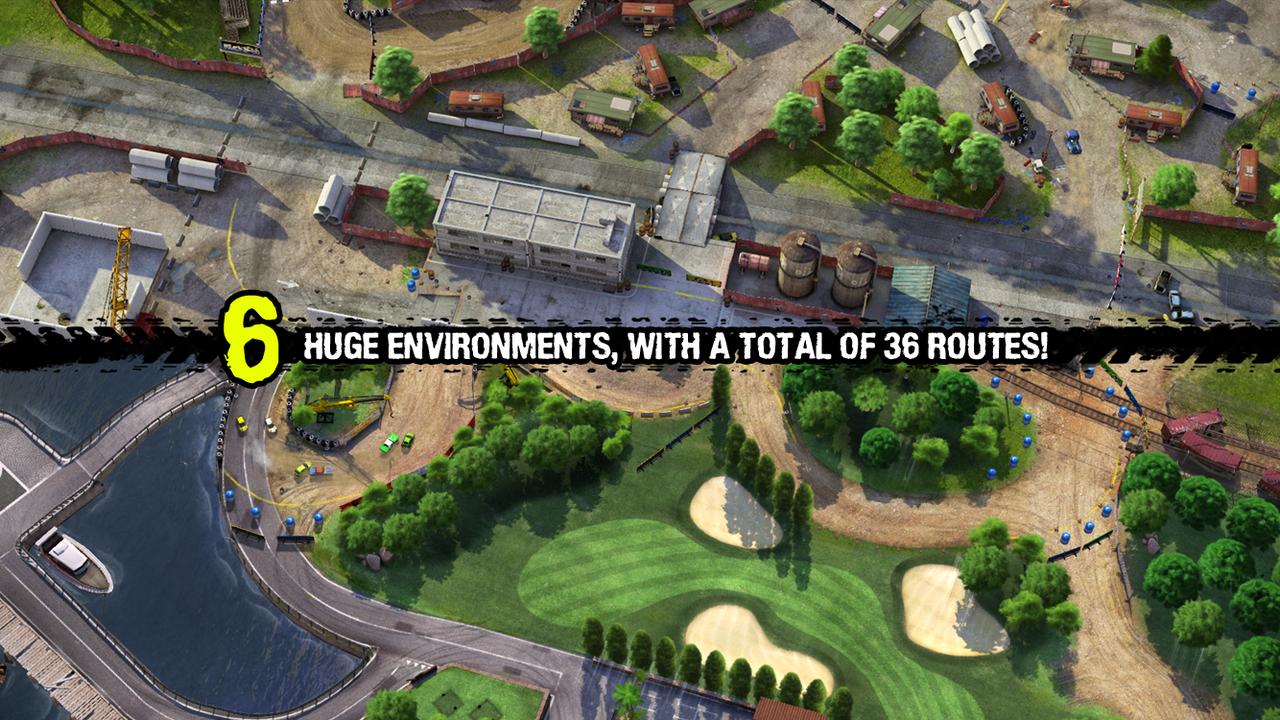 Reckless Racing 3 screenshot #4