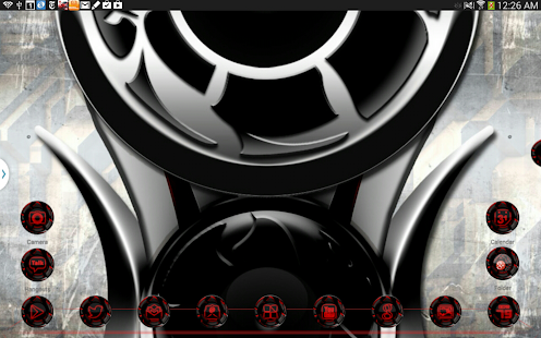 Next Launcher 3D Theme Twister