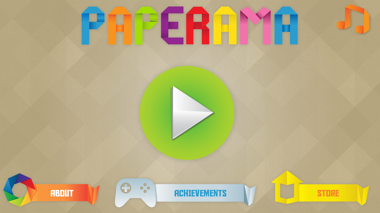 Paperama- screenshot
