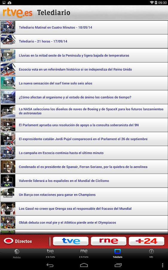 RTVE.es | Móvil - screenshot