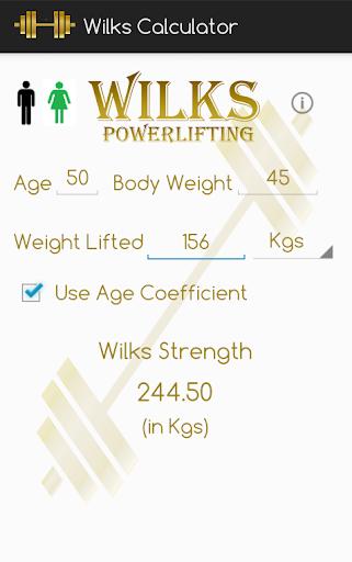 Wilks Powerlifting