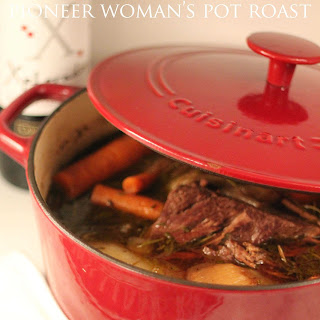 Pioneer Woman's Perfect Pot Roast.
