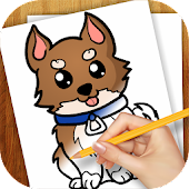 Learn to Draw Dogs and Puppies