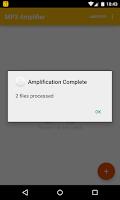 Screenshot of MP3 Amplifier