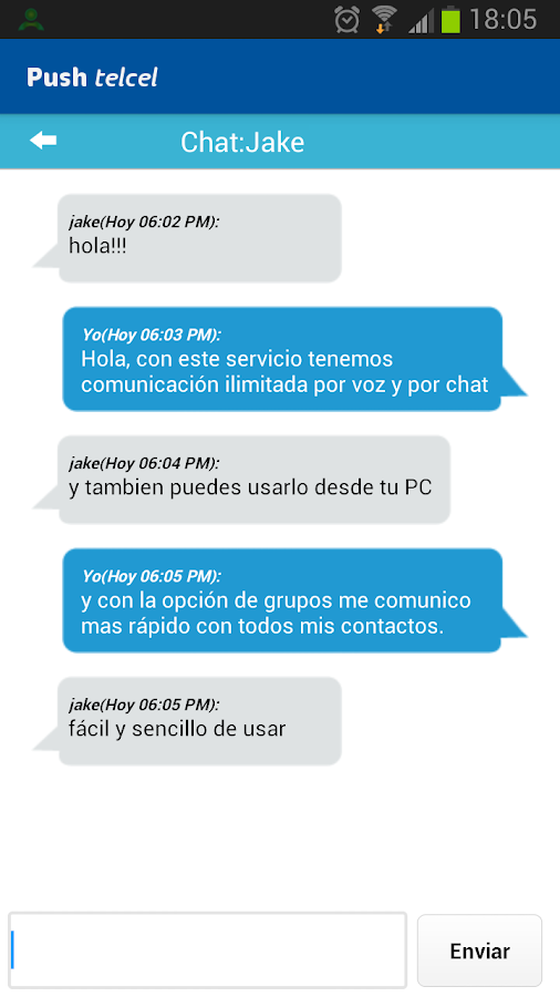 Push Telcel- screenshot