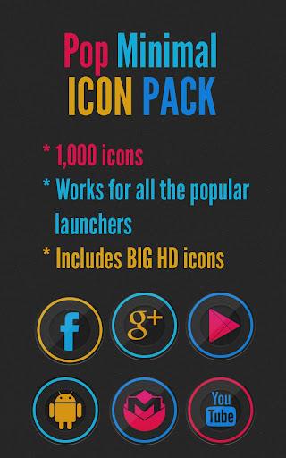 Pop Minimal - Icon Pack