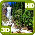 Nice Tall Waterfall 3D icon