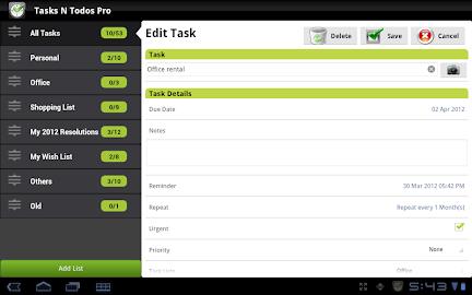 Tasks N ToDos Pro - To Do List Screenshot 11