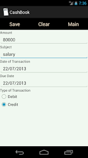 CashBook- screenshot thumbnail