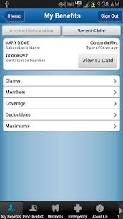 United Concordia Dental Mobile - screenshot thumbnail