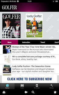 Lady Golfer - screenshot thumbnail