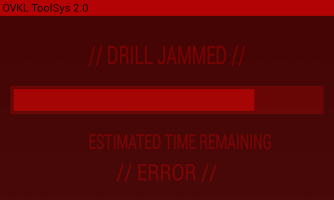 Screenshot of Payday 2 Drill Screen