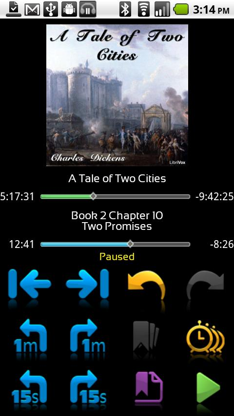 Ambling BookPlayer Pro- screenshot