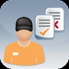 aidoo mobile >gps & job report icon
