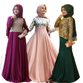 Evening Dresses (Kerchief)