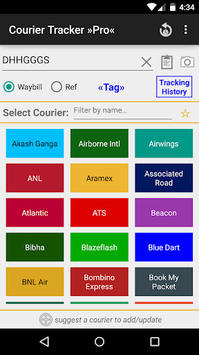 Courier Tracker »Pro«