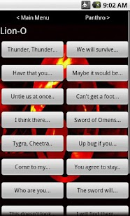 Thundercats Soundboard - screenshot thumbnail