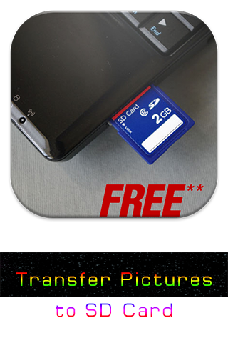 Transfer Pictures to SD Card