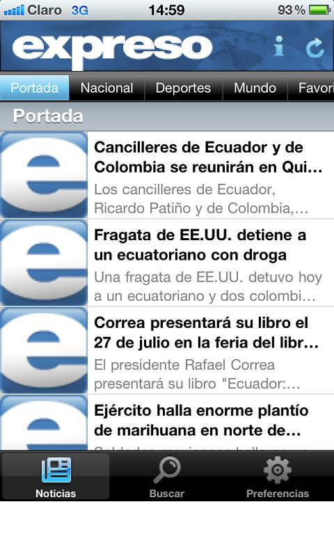 Diario Expreso - screenshot
