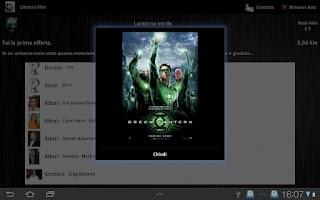 Screenshot of Video Library - English