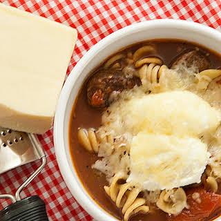 Slow Cooker Lasagna Soup.