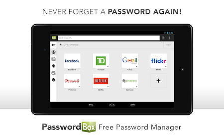PasswordBox Free Password Safe 2.0.0.0 screenshot 637101