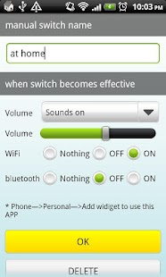 Auto Switch(Wifi,BT,Sound)- screenshot thumbnail