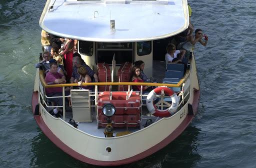JFveniceVaporetto - Venetian equivalent of city bus.