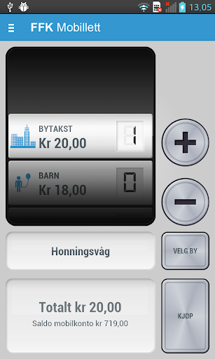 【免費交通運輸App】FFK Mobillett-APP點子