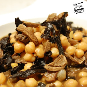 Chickpeas with Mushrooms