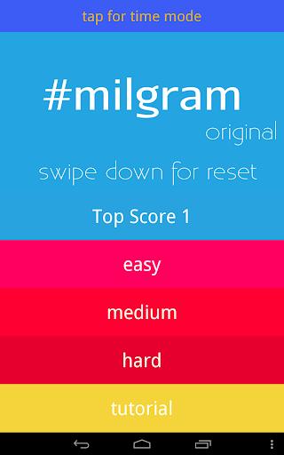 【免費解謎App】#milgram-APP點子