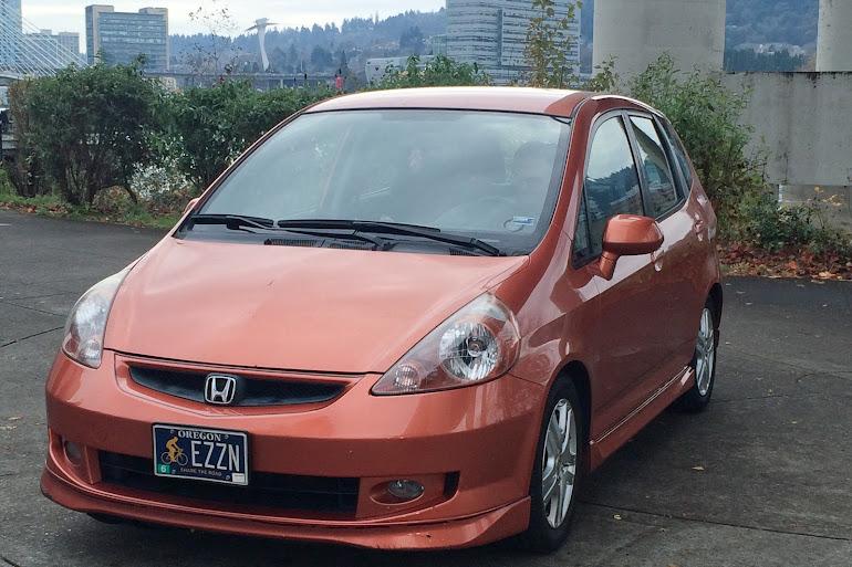 Rent A Orange Honda Fit In Portland Getaround