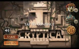 Screenshot of Cryptica