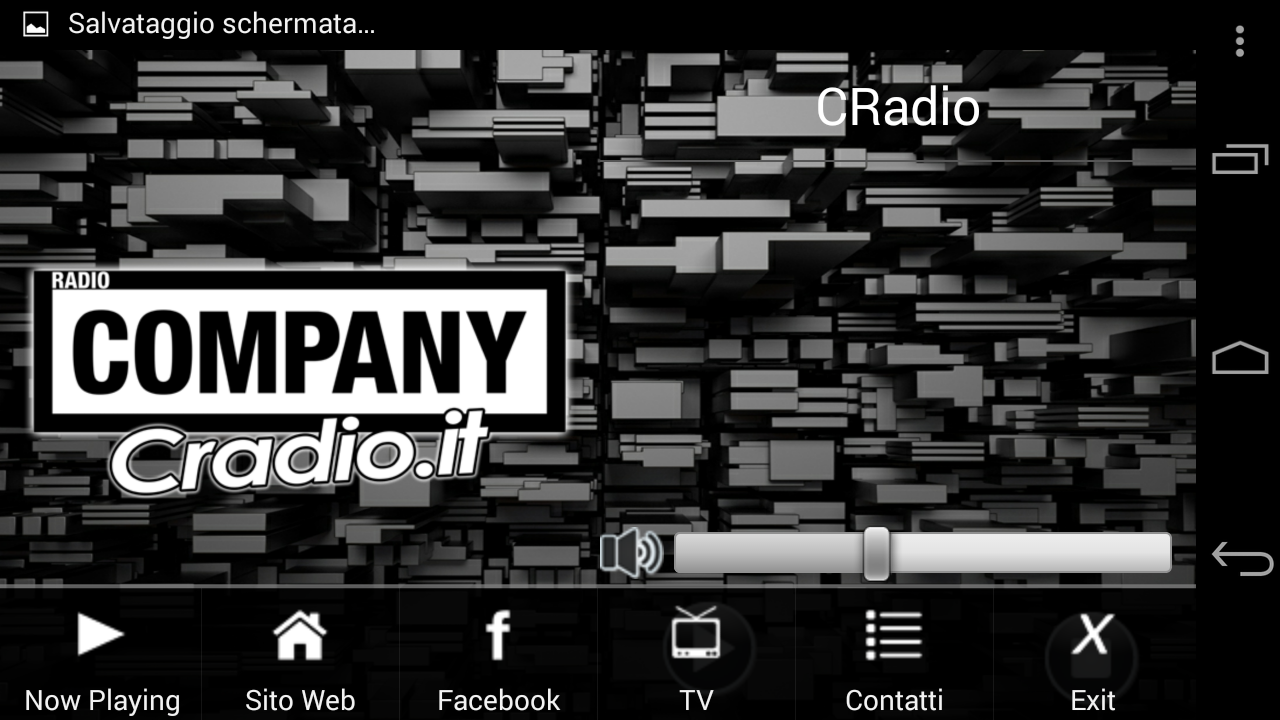 Cradio- screenshot