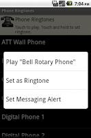 Screenshot of Phone Ringtones