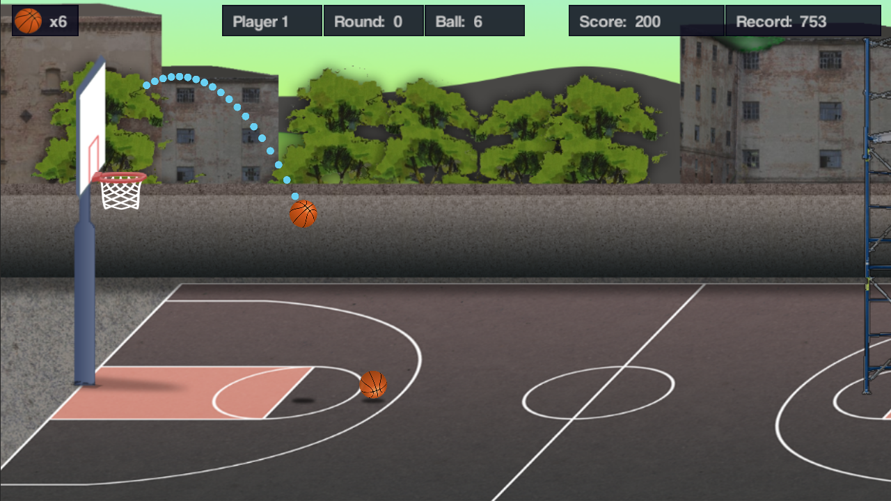Ball Shootout (beta)- screenshot