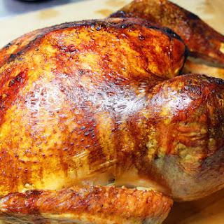 Easy Roasted Turkey.