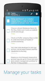 Chaos Control - GTD Task List - screenshot thumbnail