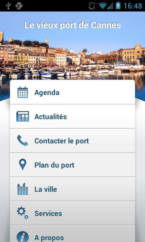 Le vieux port de Cannes- screenshot