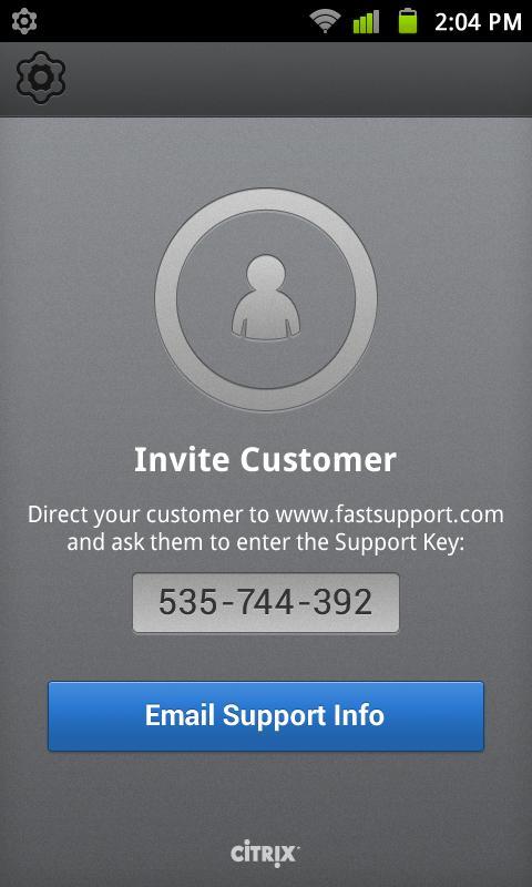 GoToAssist (Remote Support) - screenshot