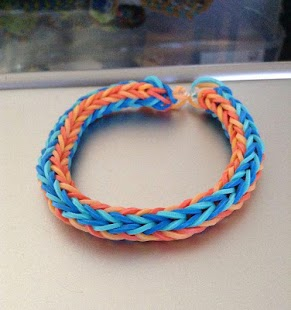 Fishtail Rainbow Loom Bracelet- screenshot thumbnail