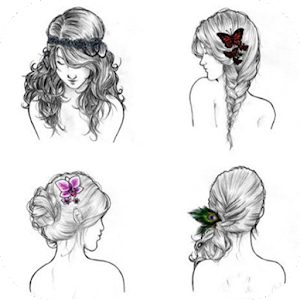 Hairstyle Reference Step Android Apps On Google Play - Drawing a hairstyle