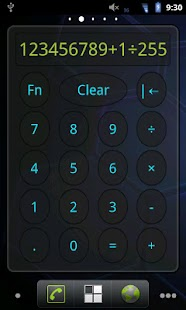 Calculator Widget - screenshot thumbnail