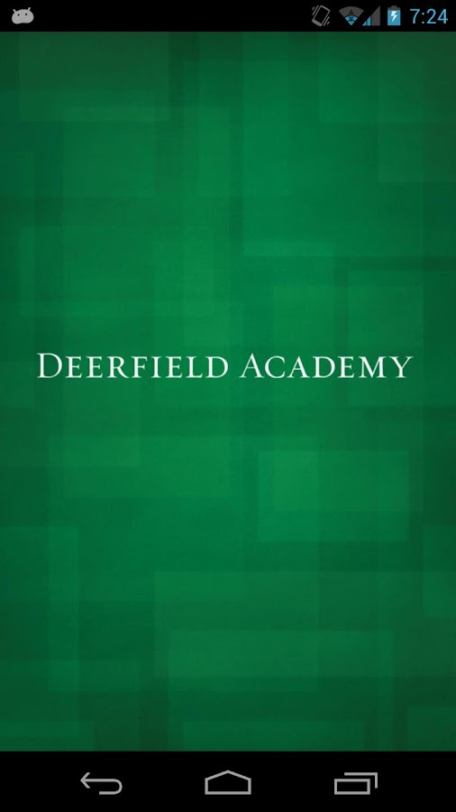 Deerfield Academy Mobile- screenshot